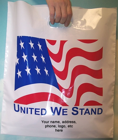 L3540 16 Quot X 18 Quot X 003 United We Stand Poly Bags Packed