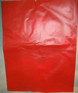 "A2038 19"" X 23"" X .002 ORANGE AUTOCLAVE POLY BAGS PACKED 200/CASE"