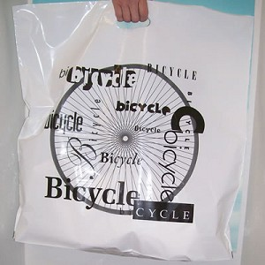 "B2022 24"" X 24"" LARGE BICYCLE SHOP POLY BAGS PACKED 250/CASE"