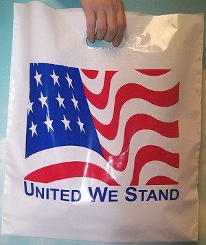 "L3540 16"" X 18"" X .003 UNITED WE STAND POLY BAGS PACKED 500/CASE"