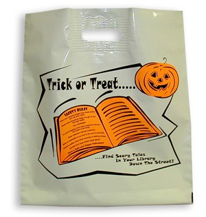 "L3547 16"" X 18""  LARGE  HALLOWEEN POLY BAGS PACKED 250/CASE"