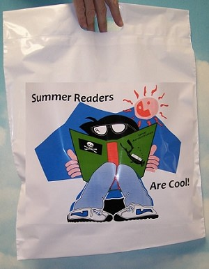 "L3564 12"" X 15"" SMALL SUMMER READERS ARE COOL 100/CTN"