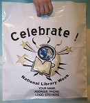 L3660S CELEBRATE NATIONAL LIBRARY WEEK WITH YOUR MESSAGE PRINTED IN A 3