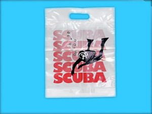 "SCUBA2403 33"" X 30"" LARGE SCUBA SHOP POLY BAGS PACK 100/CASE"